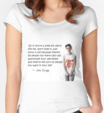 Joe Sugg - WEIRDNESS Women's Fitted Scoop T-Shirt