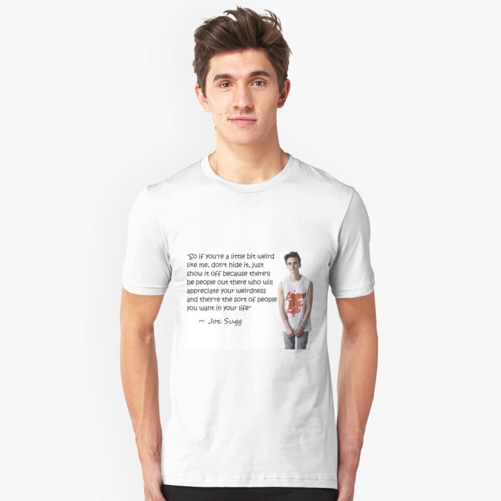Joe Sugg - WEIRDNESS Unisex T-Shirt Front
