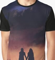 Earth meets the Sky Graphic T-Shirt