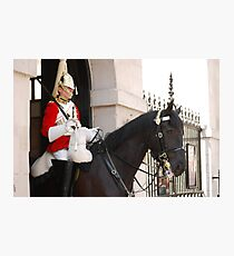 Mounted Guard Photographic Print