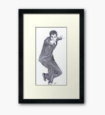 Doctor Who David Tennant Framed Print