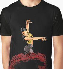 The Flamenco Dancer Graphic T-Shirt