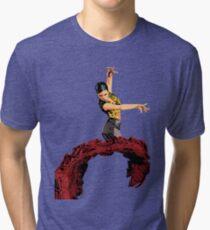 The Flamenco Dancer Tri-blend T-Shirt