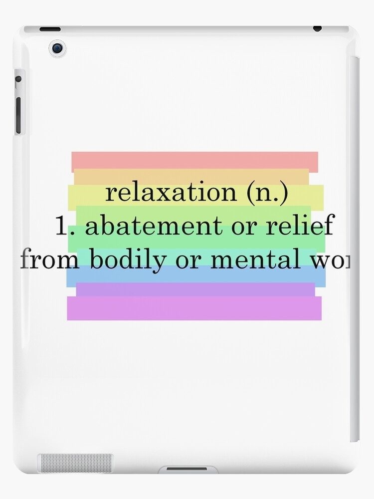 relaxation definition