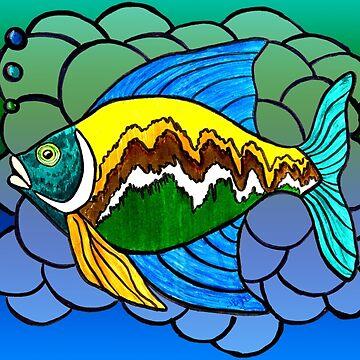 Big Fish by JbyrdYoga