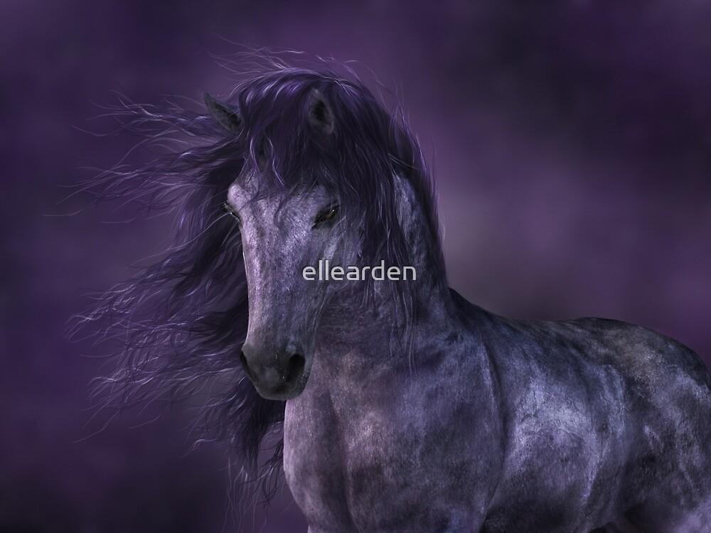 Moonlight Horse by ellearden