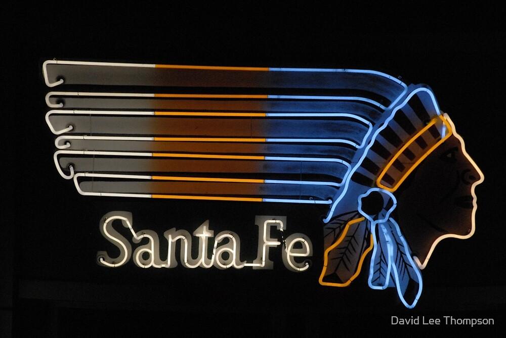 """Santa Fe Indian Neon"" by David Lee Thompson"