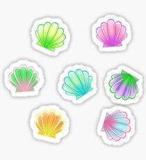 Rainbow Shells Sticker