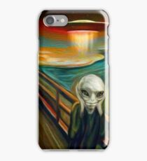 Paul Scream iPhone Case/Skin