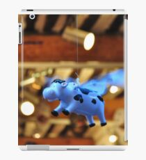 When the cows will fly iPad Case/Skin