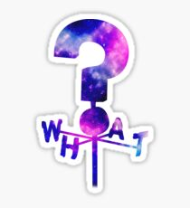The Mystery Shack Question Mark Weathervane Sticker