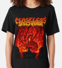 Ceaseless Discharge Slim Fit T-Shirt