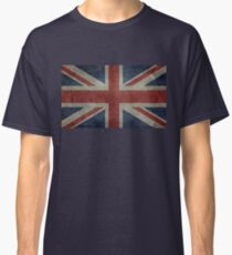 Union Jack Desaturated Grunge (3: 5 Version) Classic T-Shirt