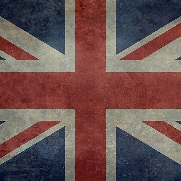 Union Jack Desaturated Grunge (3:5 Version) by Bruiserstang