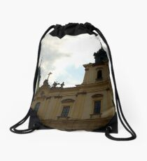 Holy Cross church, Warsaw, Poland Drawstring Bag