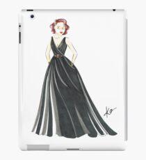 Black Widow, Evening Gown  iPad Case/Skin