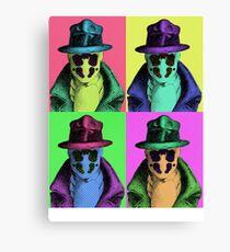 Rorschach Pop Art Canvas Print
