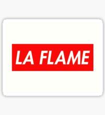 La Flame Sticker Sticker