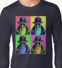 Rorschach Pop Art Long Sleeve T-Shirt