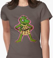 Gorn Womens Fitted T-Shirt