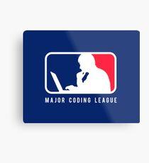 Major Coding League Metal Print