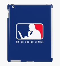 Major Coding League iPad Case/Skin