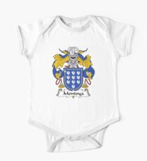 Montoya Coat of Arms/Family Crest One Piece - Short Sleeve