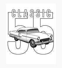 1955 Classic Vintage American Car Photographic Print