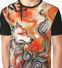Okami Amaterasu Graphic T-Shirt