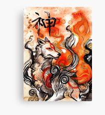 Okami Amaterasu Canvas Print