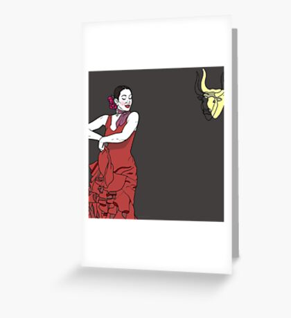 Flamenco Free Greeting Card