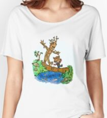 Groot and Rocket Women's Relaxed Fit T-Shirt