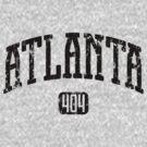 Atlanta 404 (Black Print) by smashtransit