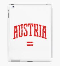 Austria (Red Print) iPad Case/Skin