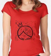 super cooper logo merch Women's Fitted Scoop T-Shirt