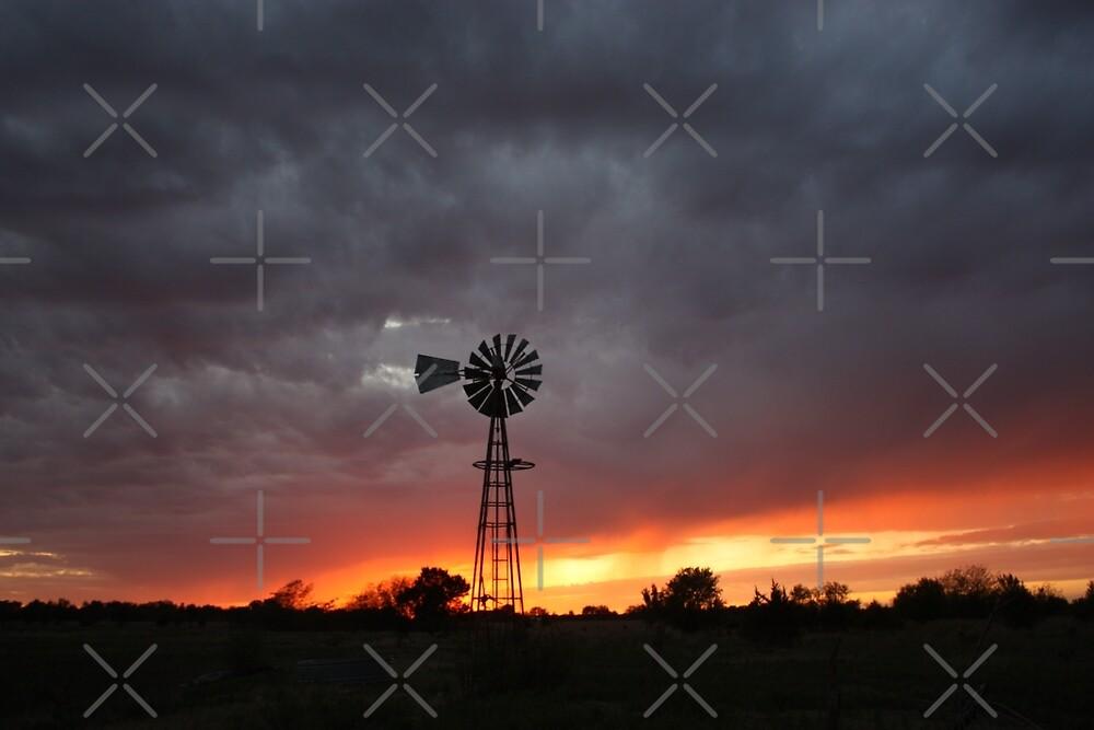 Kansas Stormy Night by ROBERTDBROZEK