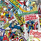 marvel comics pattern by Rafiuxx