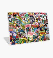 marvel comics pattern Laptop Skin