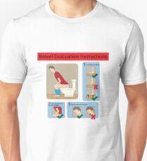Evacuation instructions Unisex T-Shirt
