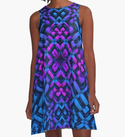 Into the Night A-Line Dress