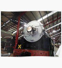 504 engine Poster