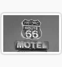 Route 66 motel sign Sticker