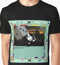 Monopoly Retro Game Board Graphic T-Shirt