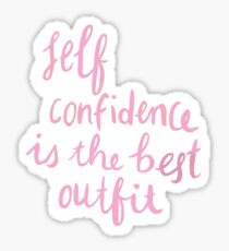 Confidence Sticker