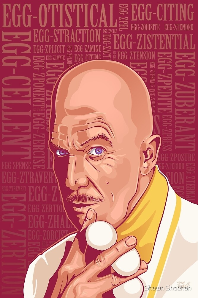 Vincent Price Egghead by Shawn Sheehan