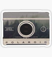 Vintage Waldkamera Sticker