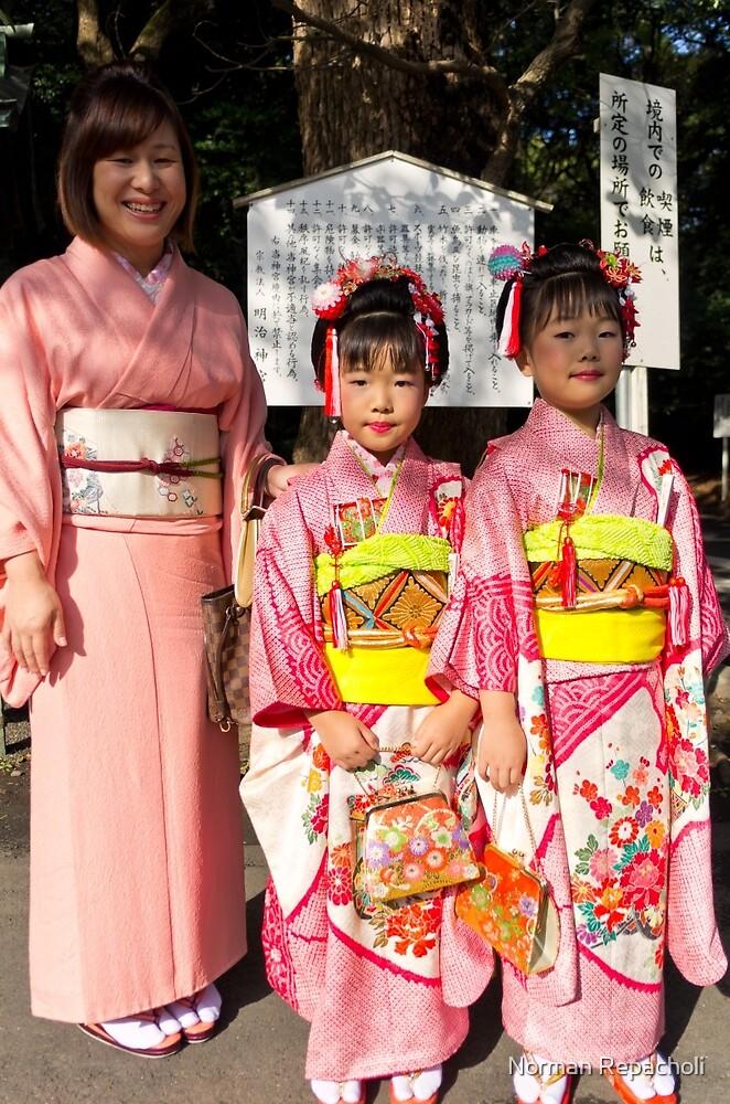 Shichi-Go-San Festival – Image 03, Japan by Norman Repacholi