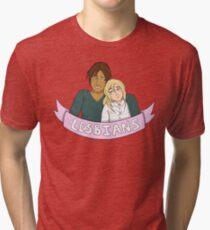 Yumikuri in Lesbians Tri-blend T-Shirt
