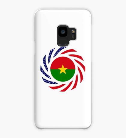 Burkina Faso American Multinational Patriot Flag 1.0 Case/Skin for Samsung Galaxy