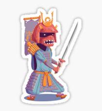 The Steady Strawberry Samurai Sticker